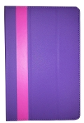 "10"" Universal Smart Cover Tablet Case Purple/Pink"