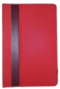 "10"" Universal Smart Cover Tablet Case Red/Maroon"