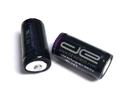 18350 Battery (2 PACK Button Top) 900mAh 3.7V